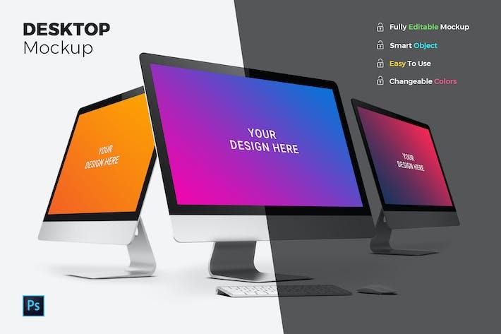 Thumbnail for Desktop Mockups