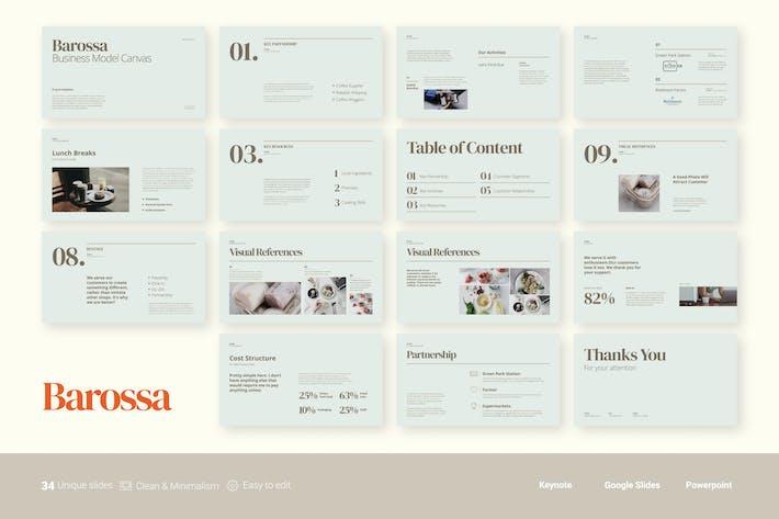 Thumbnail for Barossa - Бизнес-модель Холст