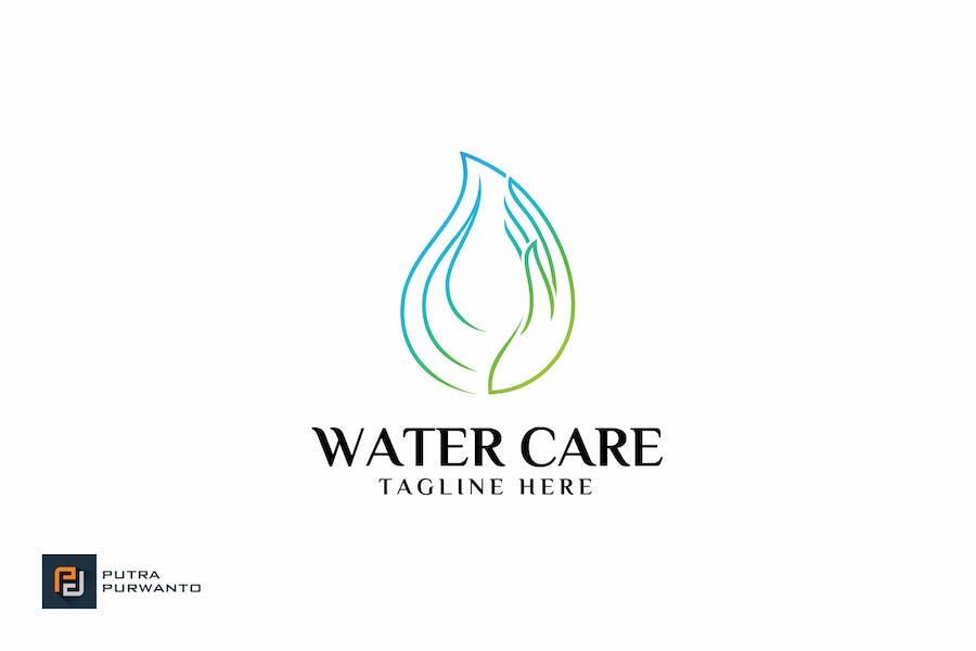 Wasserpflege - Logovorlage