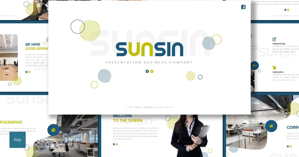Download Sunsin - Business Keynote Template by inspirasign