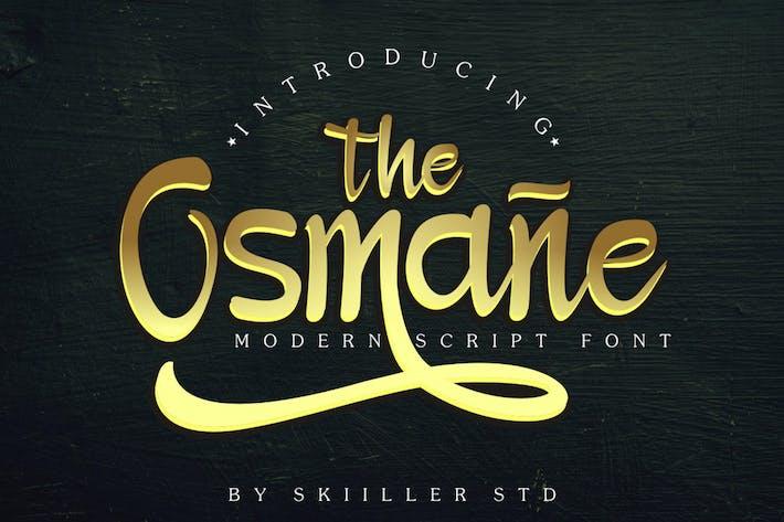 Thumbnail for Osmane Script Font