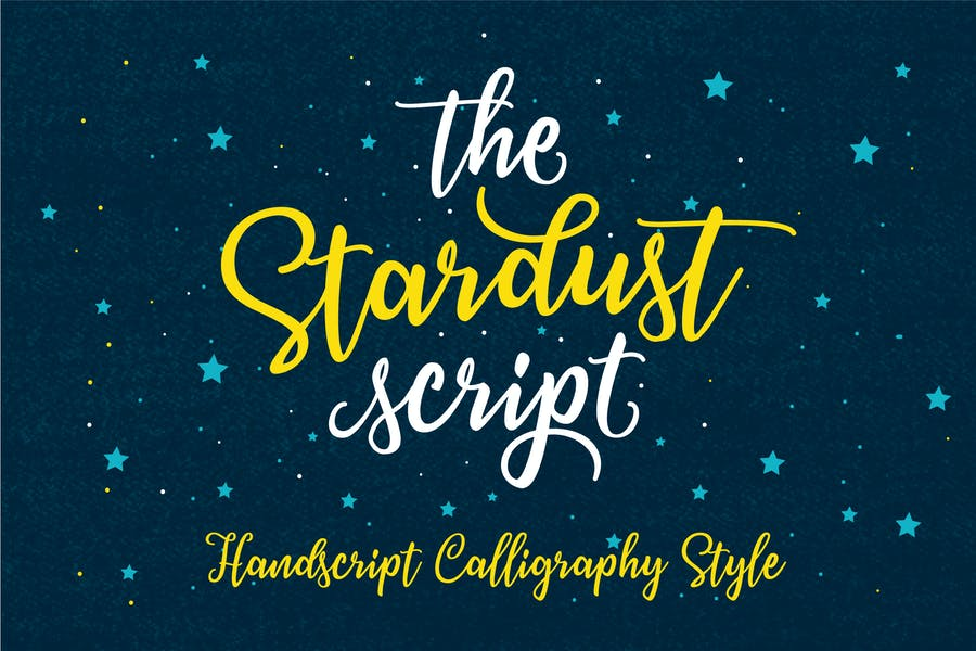 Stardust Script Typeface