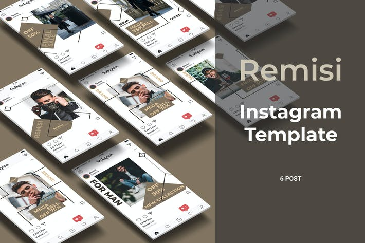 Thumbnail for Remisi - Fashion Social Media Post Part 7