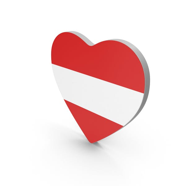 Thumbnail for Austria Heart Flag