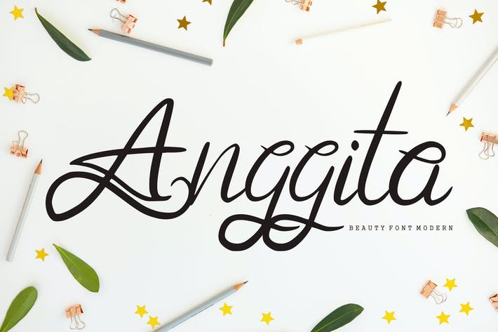 Thumbnail for Anggita | Beauty Modern Font