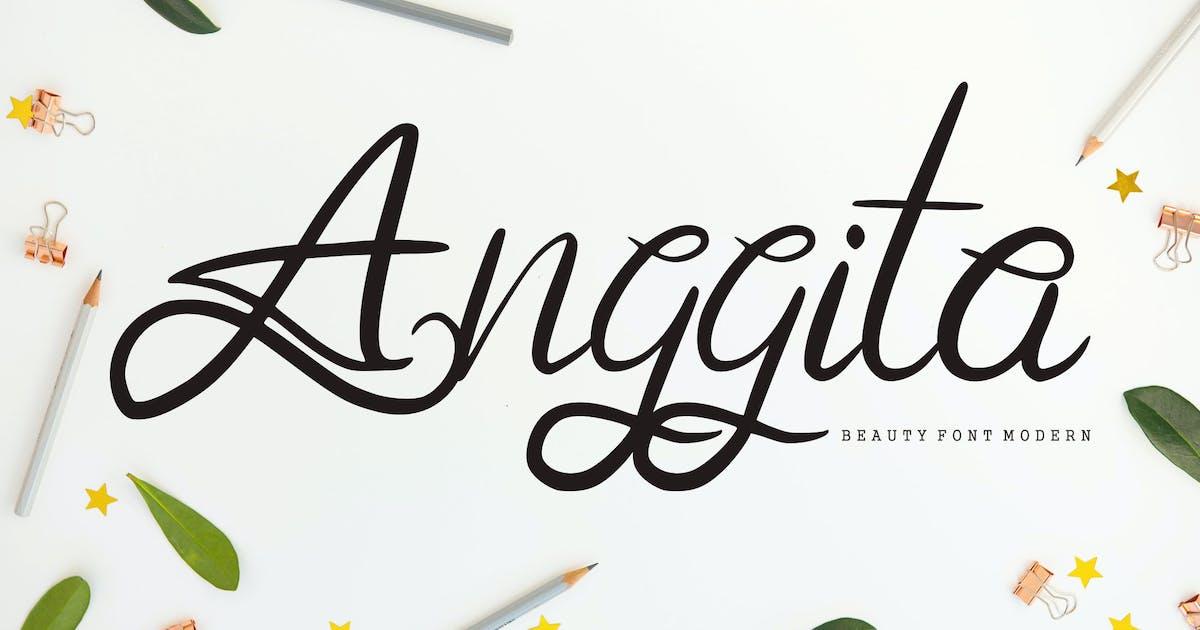 Download Anggita | Beauty Modern Font by Vunira