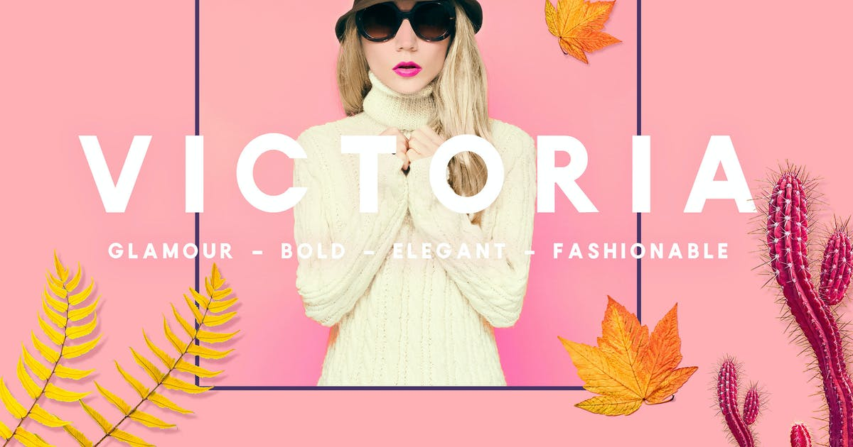 Download VICTORIA - Glamour, Elegant  Sans serif by NEWFLIX