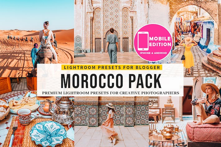 Thumbnail for Morocco Lightroom Presets