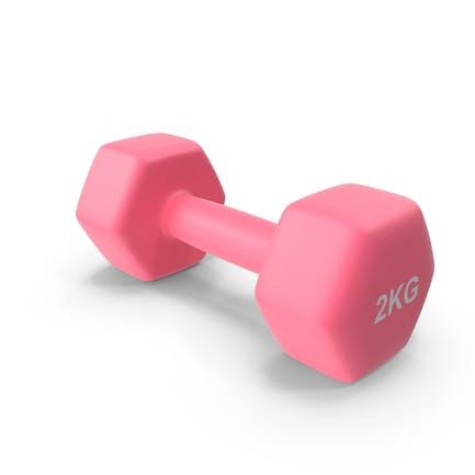 Single Fitness Dumbbells 2kg