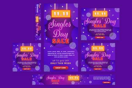 Singles Day -  Web Banner