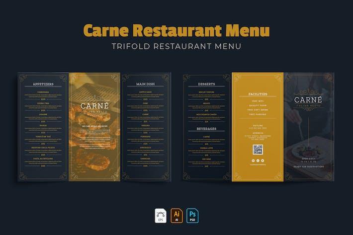 Thumbnail for Carne | Restaurant Menu
