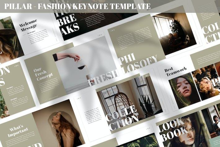Thumbnail for Pillar - Fashion Keynote Template