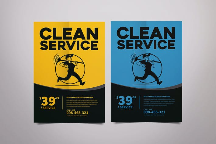 Thumbnail for Clean Service Flyer