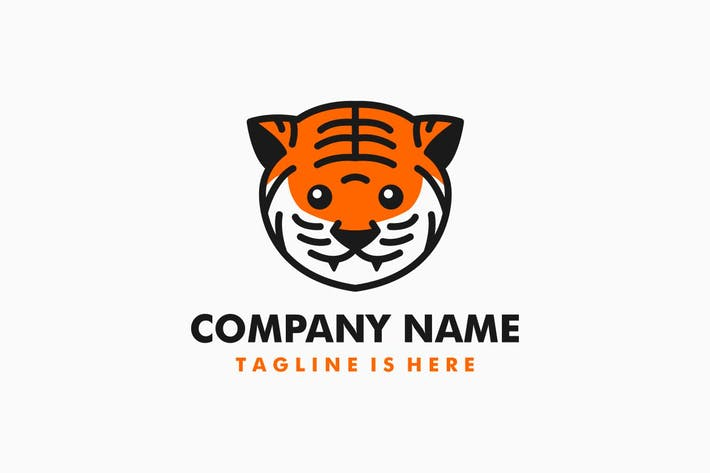 Thumbnail for Little Tiger Cub Logo Template