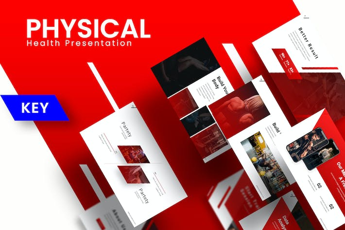 Thumbnail for Physical - Keynote Template