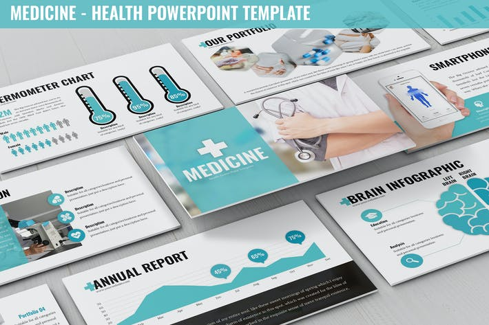 Thumbnail for Medicine - Health Powerpoint Template