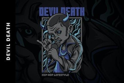 Illustration des Teufels Tod