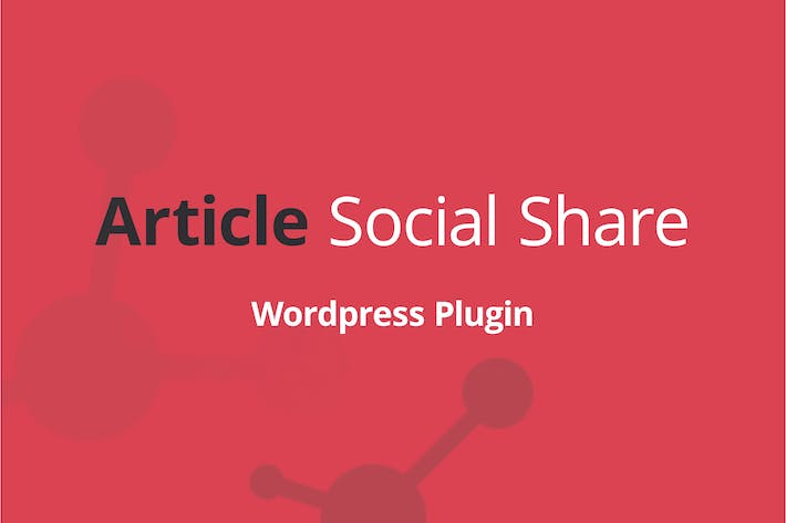 WordPress Artikel Social Share