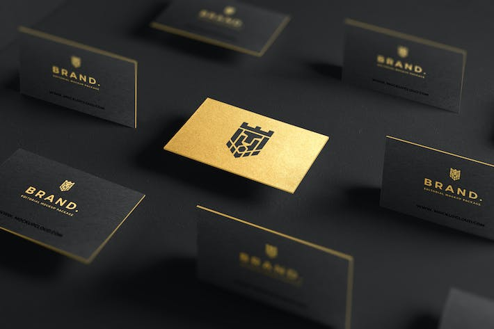 Thumbnail for Business Cards Mockup Vol. 1