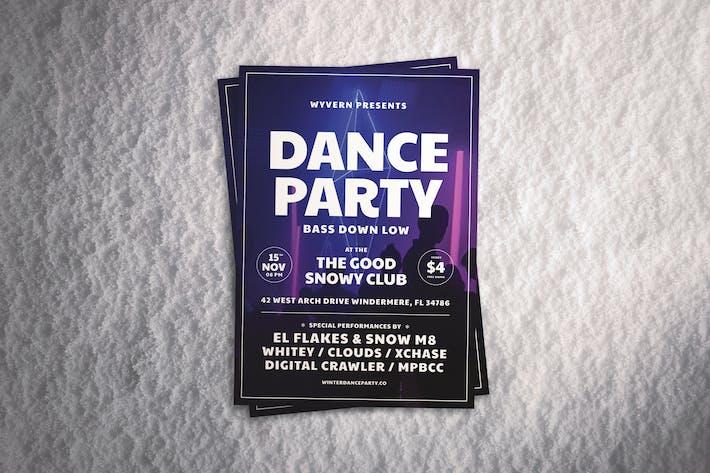 Retro Dance Flyer