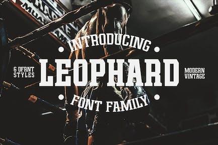 Leophard - Font Family
