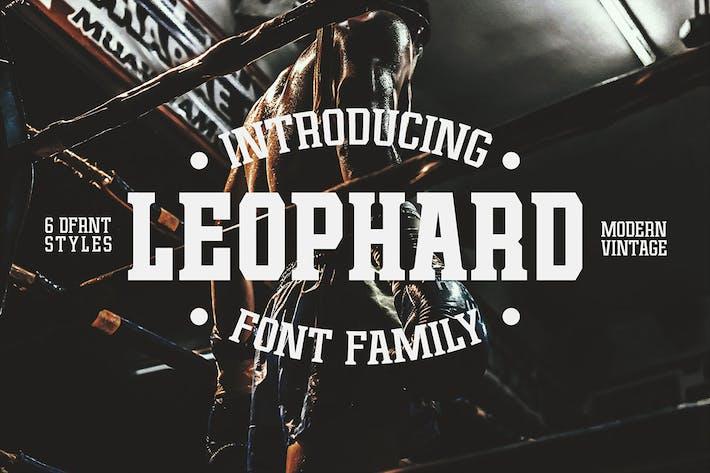 Leophard - Família Font