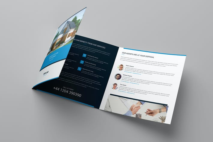 Thumbnail for Brochure – Real Estate Tri-Fold Square