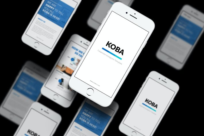 Thumbnail for Koba Corporate  Instagram Stories Template