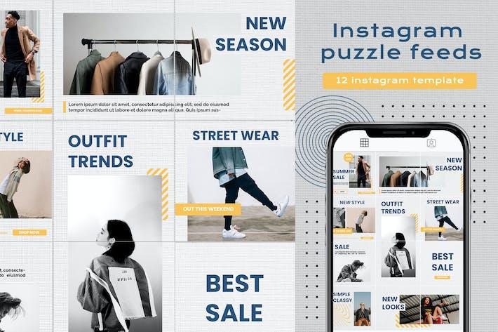 Instagram puzzle - summer sale