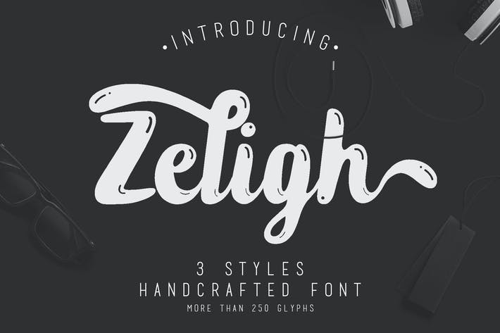 Thumbnail for Zeligh Typeface