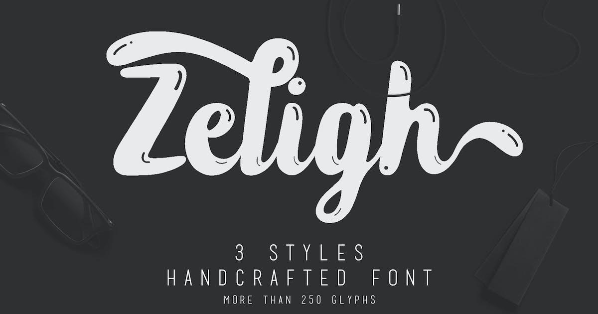 Zeligh Typeface by KMZVRLab