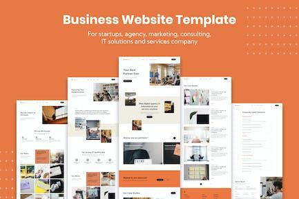 Corporate Business Website Template
