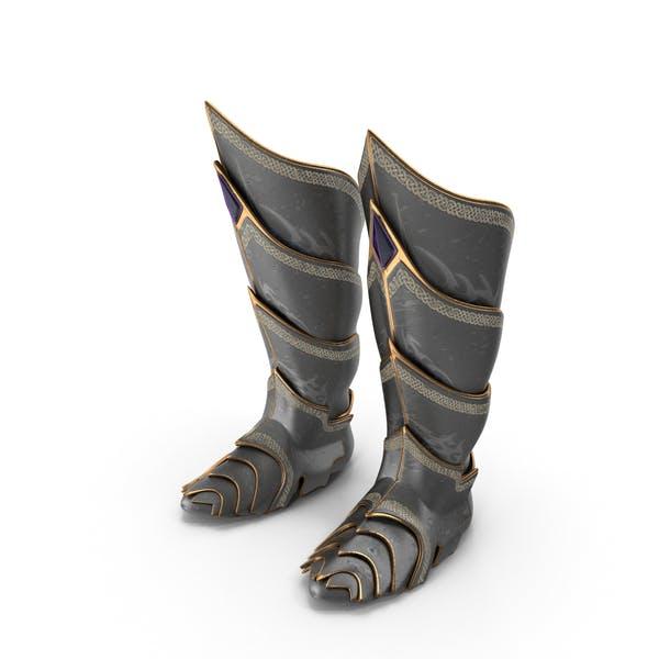 Fantasy Knight Boots