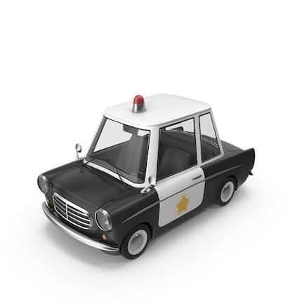 Cartoon Police Car