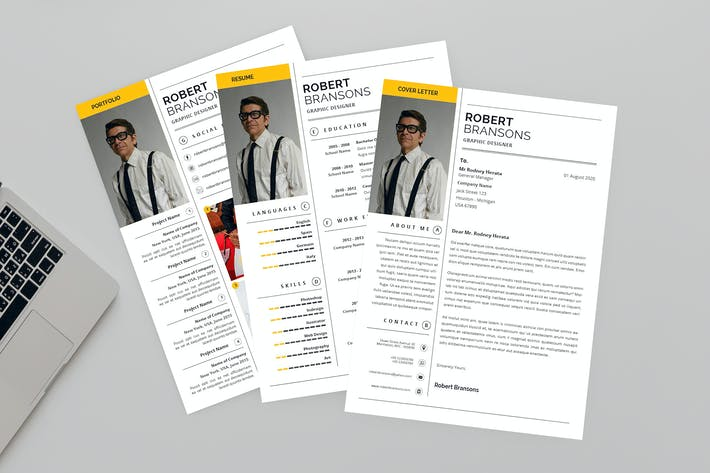 Thumbnail for Glorious Resume Designer