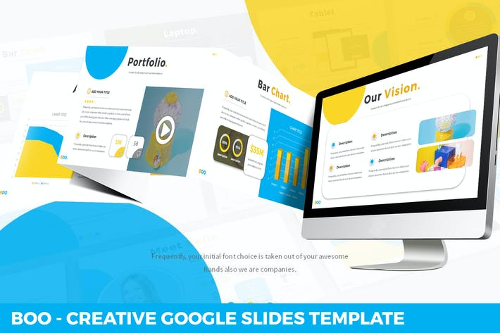 Cover Image For Boo - Multipurpose Creative Google Slides Template