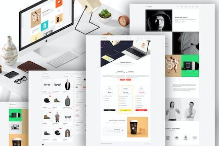 BURAN - Kreatives Portfolio und Business WordPress