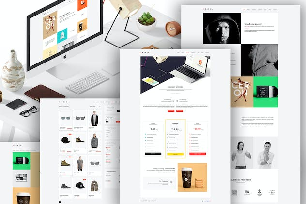 BURAN - Creative Portfolio and Business WordPress