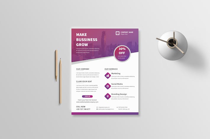 Thumbnail for Business Flyer 26