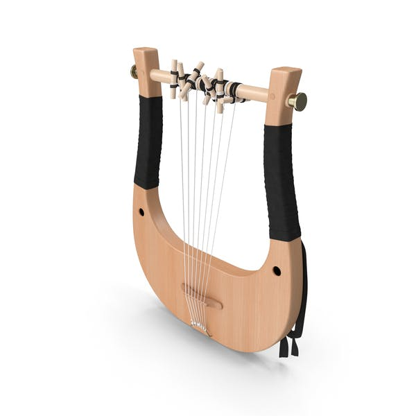 Classical Greek 7 String Lyre