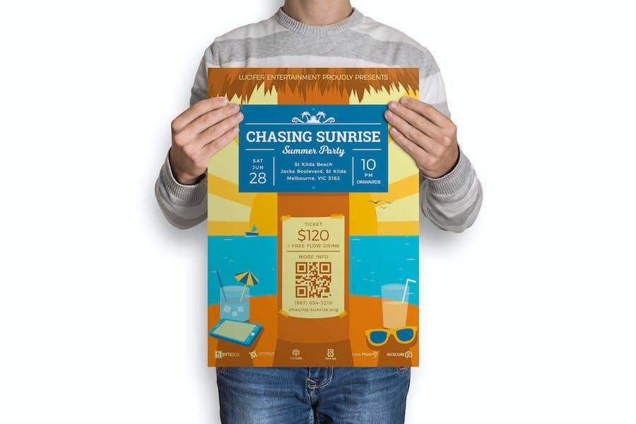 Sunrise : Music Event Poster