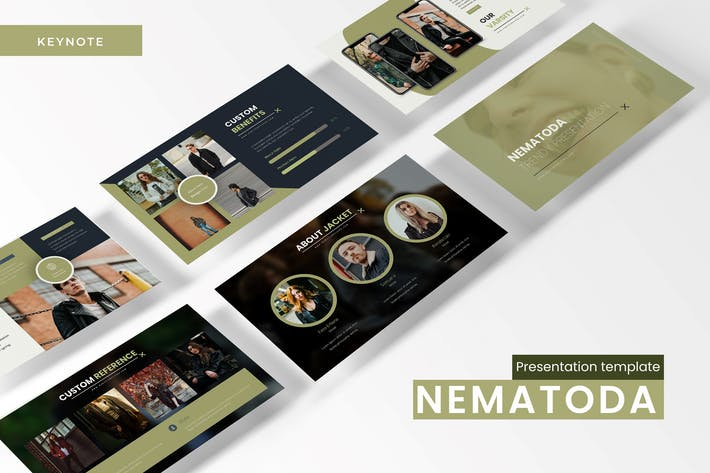 Thumbnail for Nematoda - Keynote Template