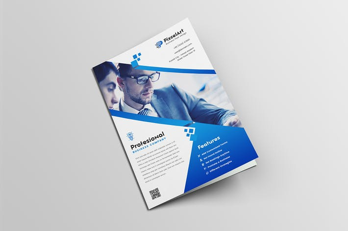 Thumbnail for A4 Business Flyer Template
