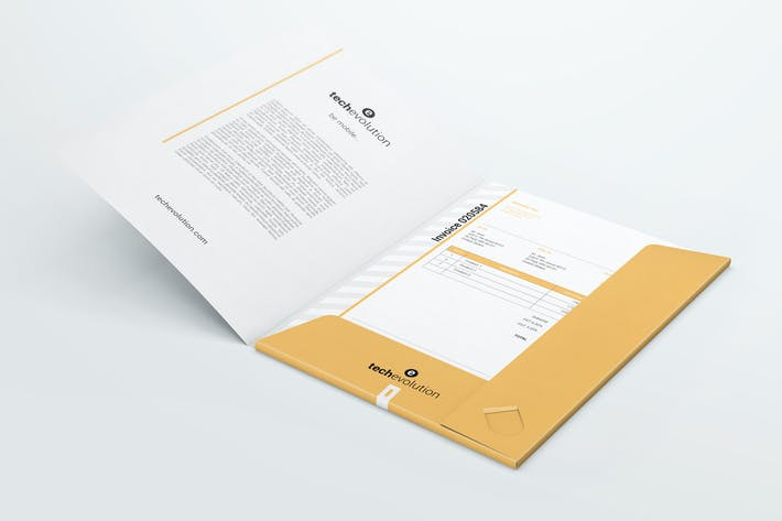 Thumbnail for Paper Folder Mockups 02