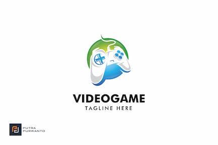 Video spiel - Logovorlage