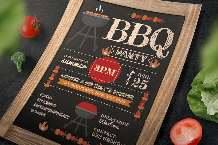 Thumbnail for Invitation Bbq
