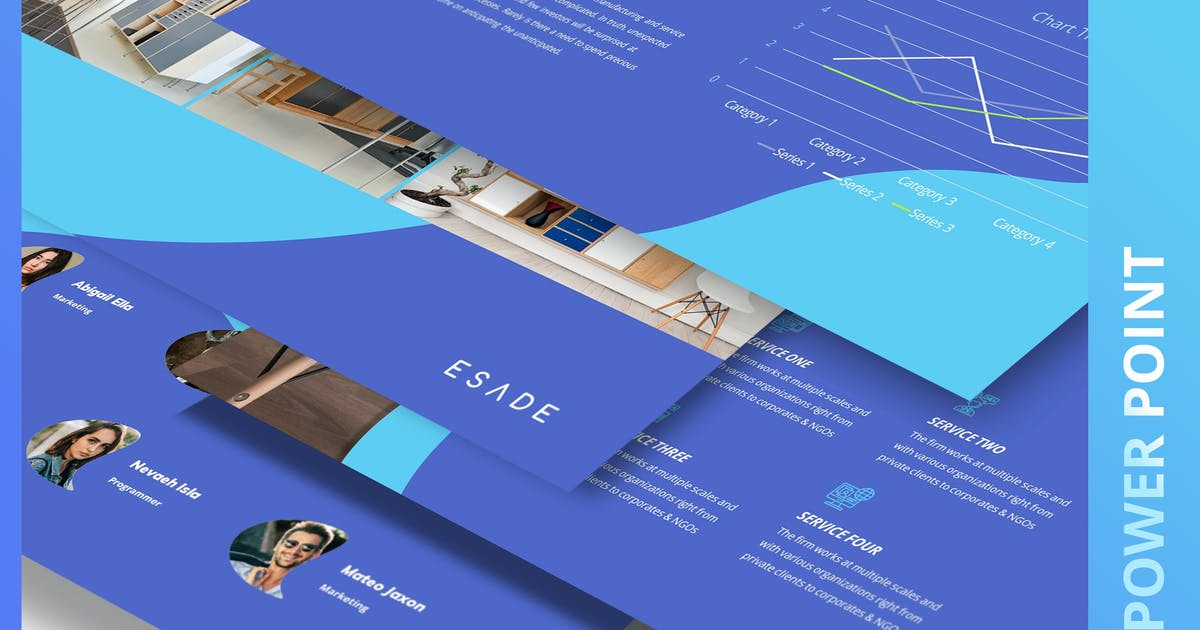 Download ESADE - Multipurpose Power Point Template by Incools