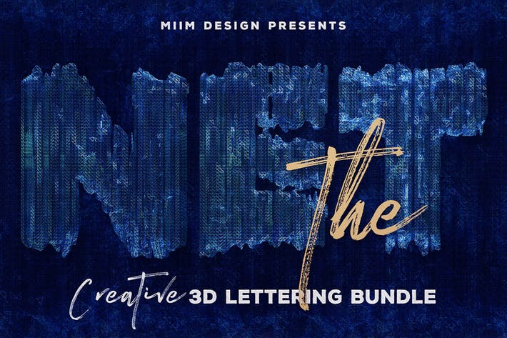 Thumbnail for The Net – 3D Lettering