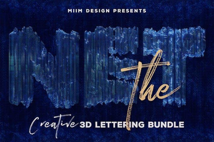 Das Netz — 3D Schriftzug