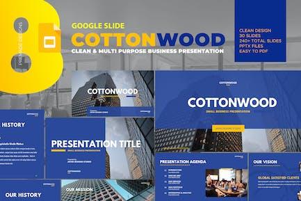 CottonWood - Company Profile Google Slide